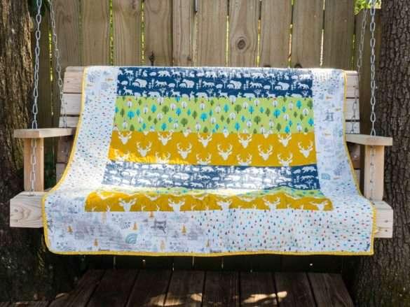 couverture bébé patchwork
