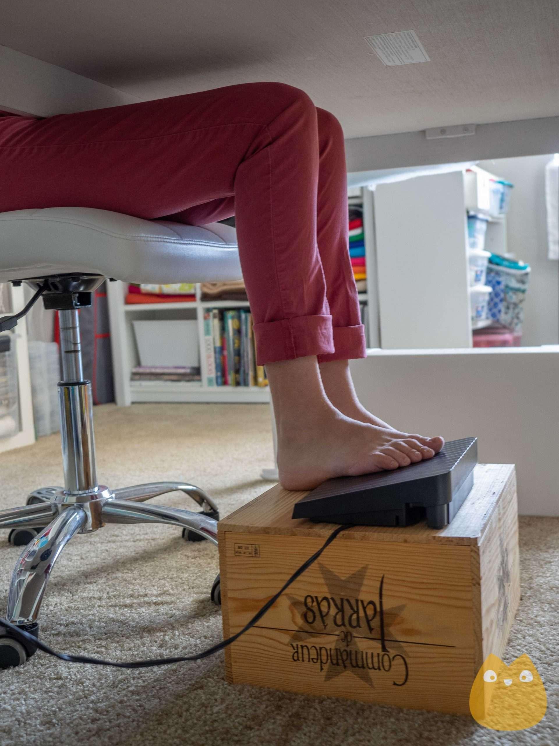 ergonomie couture - coudre sans douleur